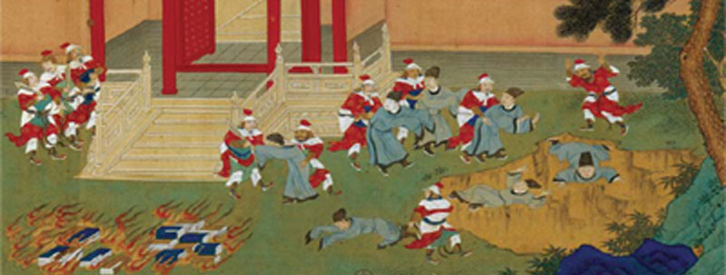 Qin Shihuang understood the importance of books -- he had them burned and the scholars buried!